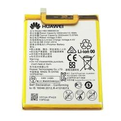Google Nexus 6P, original batteri, 3450mAh, HB416683ECW vit