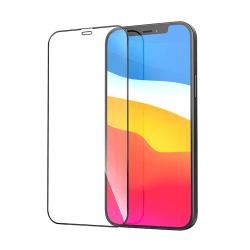 Heltäckande skärmskydd i härdat glas, iPhone 12 Pro Max, 9H