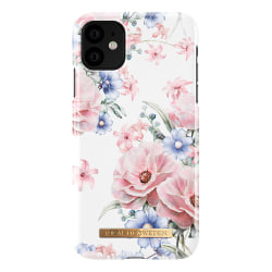 iDeal Fashion Case magnetskal iPhone 11/XR, Floral Romance vit