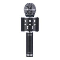 iKaraoke Bluetooth‑mikrofon svart