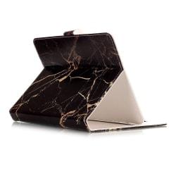 Läckert läderfodral marmor, iPad mini 4  svart