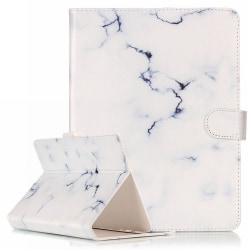 Läckert läderfodral marmor, iPad mini 4  vit