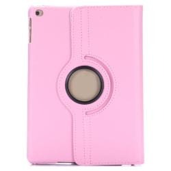 Läderfodral 360°, iPad Air, mörkrosa rosa