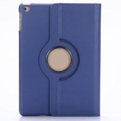 Läderfodral 360°, iPad Air, mörkblå