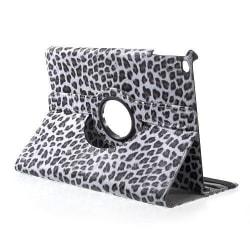 Läderfodral leopard grå, iPad Air
