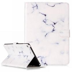 Läderfodral med kortplats, iPad Air, marmor vit