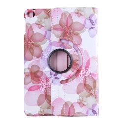 Läderfodral med roterbart ställ, iPad Mini 4/5 rosa