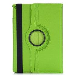 Läderfodral med ställ grön, iPad Air