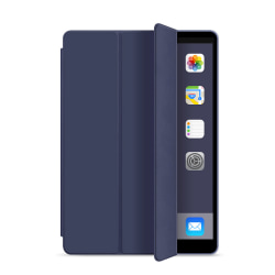 Läderfodral med ställ, iPad Mini 4 blå