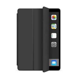 Läderfodral med ställ, iPad Mini 4 svart