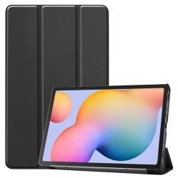 Läderfodral, Samsung Galaxy Tab S6 Lite 10.4 Svart