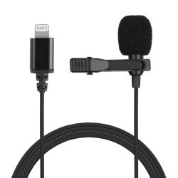 Lavalier-mikrofon/mygga för iPhones, 10V