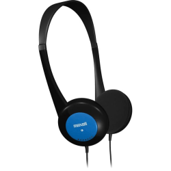 Maxell Kids barn-anpassade hörlurar, 3.5mm blå