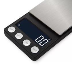 Pocketvåg, 1kg/0.1g, silver