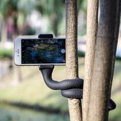 Snake Böjbar mobilhållare med sugproppar