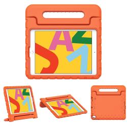Stöttåligt barnfodral med ställ till iPad Pro 10.5, orange