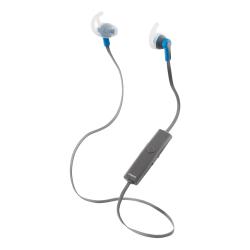 Streetz Bluetooth sporthörlurar med mikrofon, grå/blå blå