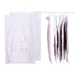 Vakuumpåse för kläder och sängkläder med upphängning, 110x70c...