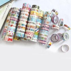 10pcs Cartoon Masking Adhesive Tape DIY Sticker Label Stationery random pattern 10pcs