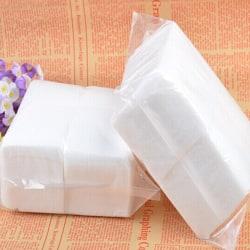 400 Pcs Nail Art Cotton Wipes Acrylic Gel Tips Remover 400pcs
