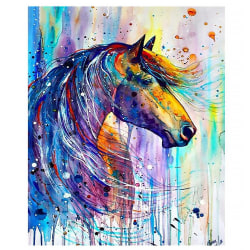 5D DIY Diamond Painting Animal Diamond Cross-stitch as the picture