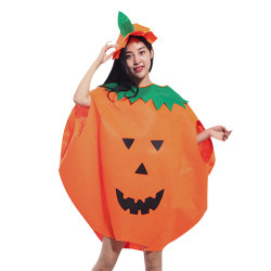 Adult Pumpkin Halloween Costume Stage Clothes as the picture