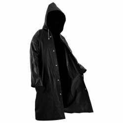 Adults Raincoat Outdoor Rainwear EVA Cloth Hoodie as the picture