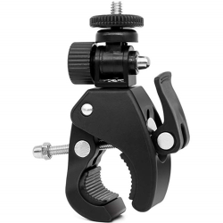 Bike Front Bar Handlebar Camera Clamp Support Mount For Gopro as the picture