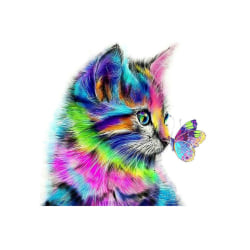 Cartoon Diamond Painting Animal Embroidery Cross Stitch Arts as the picture