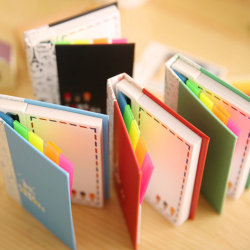 cartoon notebook stickers sticky notes notebook color random 1pcs