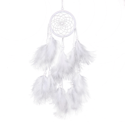 Dream Catcher Net Feathers Wall Hanging Decoration Ornament 1pc