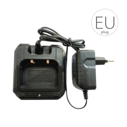 for BAOFENG Battery Charger CHR-9700 Walkie Talkies EU Plug as the picture