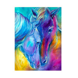Animal Horse Diamond Painting Rhinestone Home Wall Art Decor as the picture