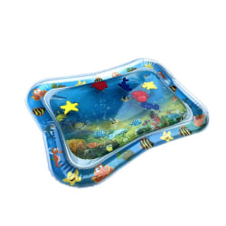 Inflatable Baby Water Mat Infants Fun Activity Playmat as the picture