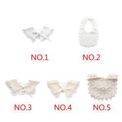 Lace Cotton Baby Soft Bib Saliva Towel Feeding Baby Accessories No.5