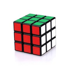 Magic Puzzle Black Twist Puzzles Toy Gifts Rubik's Cubes as the picture