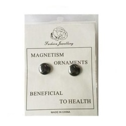 Magnet Earring Ear Stud Magnetic Healthy Stimulating Ear Clip as the picture