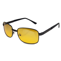 Night Vision Driving Sunglasses Glasses Fashion Eye-Glasses Yellow