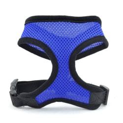 Pet Dog Harness Easy Control Mesh Vest Leash Bröstremmar Bälte