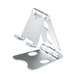 Phone Tablet Holder Desktop Universal Mobile Bracket Stand silvery