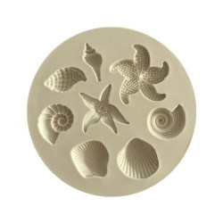 Seashell silicone cake mould Fondant DIY mould as the picture