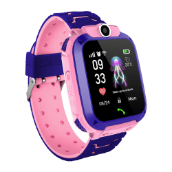Touch Screen Children Wristwatch Smart Watch Kids Watch pink