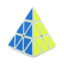 Triangle Pyraminx Speed Magic Cube Puzzle Speed Toy Random color random background color