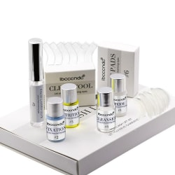 Permanent Fransböjning Kit - Eyelash Lifting - Lash Lift