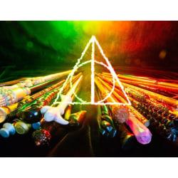 Dumbledore Elder, 55pcs Harry Potter Wand Collection,biggest COL multifärg