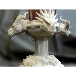 Four Dragons Candlestick multifärg one size