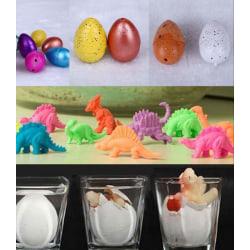 Grow a Dinosaur / Kläck en dinosaurs / blandade Djur  ägg 2st Svart ägg - dinosaurier