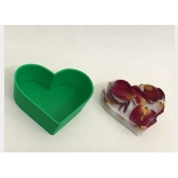 Heart Shaped Soap Mold Vit M
