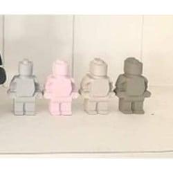 "LEGO Figur ""Liten""- BETONG LEGO FIGUR LITEN-Betong"