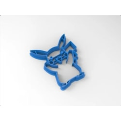 Pokemon-picachu cookie cutter MultiColor M